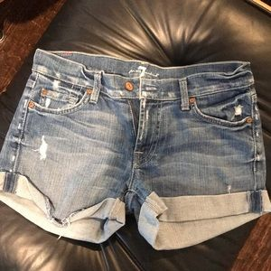 7 jean shorts!